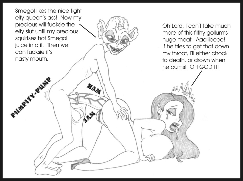 porn the comic rings lord of Dead by daylight amanda young