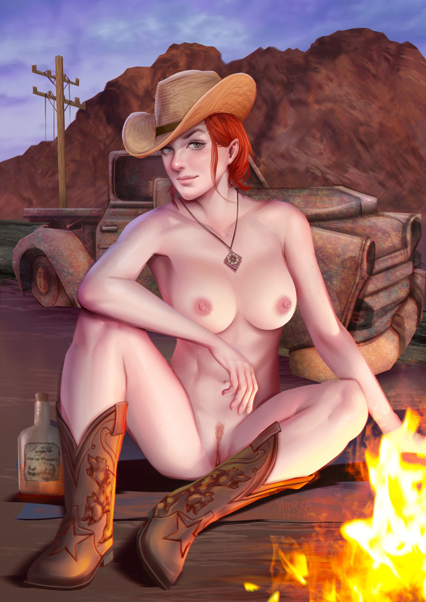 vegas new red fallout lucy 3d lara croft and horse